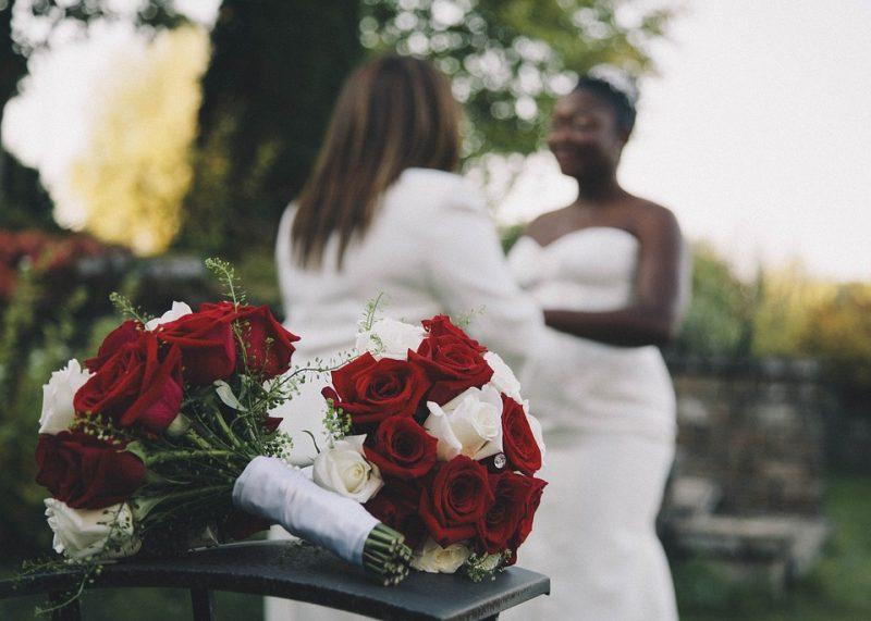 lgbt bridesmaid