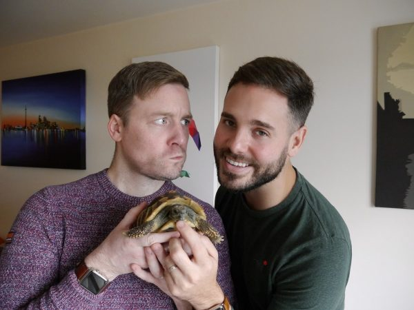 Two Guys & A Tortoise